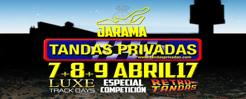 tandas jarama 8 - 9 abril eventos coches madrid